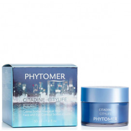Phytomer Citylife Face And Eye Contour Sorbet Cream / Крем для лица и контура глаз - 50 мл